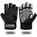 SIMARI Workout Gloves for Men Women, Weight Lifting Gloves, Gym Gloves, Breathable Non-Slip Wrist Protection Great for Lifting Weightlifting Lifts Fitness Exercise Training SG-907