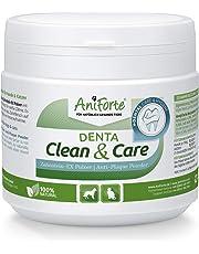 AniForte Denta Clean and Care Zahnstein-EX Pulver 300g für Hunde und Katzen - Zahnpflege für weiße Zähne, Frischer Atem, Zahnbelag und Plaque einfach vorbeugen, Auch für die Welpen Mundhygiene