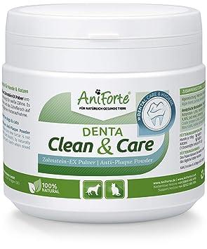 Denta Clean & Care Powder 300g. para Perros y Gatos | Producto Natural para el Cuidado de Dientes | Dientes Blancos, Aliento Fresco, Prevención de ...