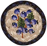 Earth Rugs 31-IC312B Coaster, 5″, Blueberry