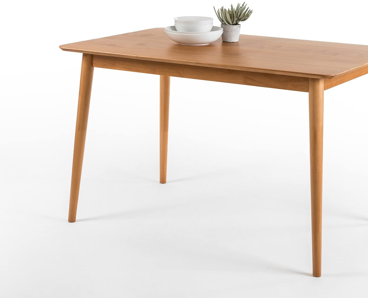 Zinus Jen 3 Inch Dining Table, Natural