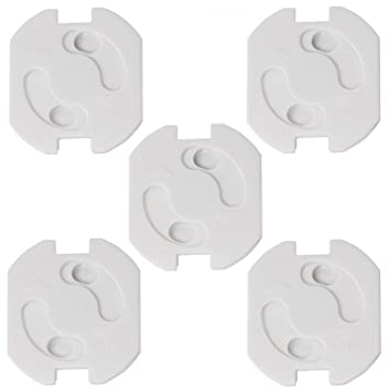 Kindersicherung Kinderschutz Sicherung für Steckdosen 5 Stück