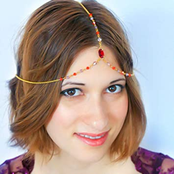 Bead Crystal Headband Beautiful Womens Girls Alice Hair Head Band Accessories