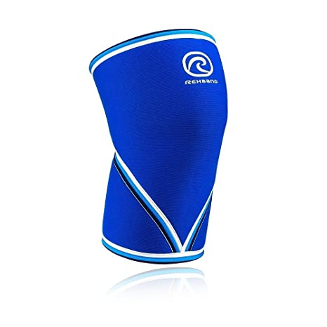 8098323b43 Amazon.com: Rehband 7mm Knee Sleeve - Model 7051 Original Blue ...