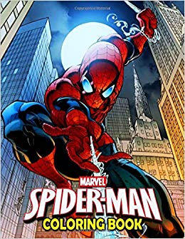 Marvel Spiderman Coloring Book 50 Spider Man Coloring Pages Funny Books Gifts For Kids And Adults Jordan Jimmy 9781699326688 Books Amazon Ca