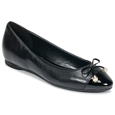 bf6d297e6185 Michael Michael Kors Gia Ballet Flats Black (8)