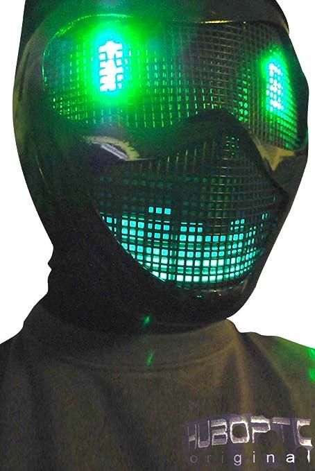 Amazon.com: Original huboptic Verde Eyes FX – Negro Máscara ...