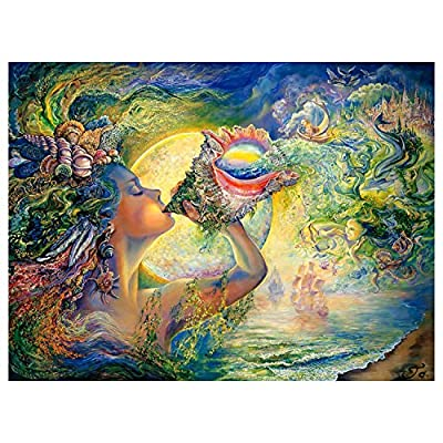 1000 Pieces Puzzles for Adults Teens Vintage Paintings Challenge Jigsaw Puzzle for Kids 810: Toys & Games