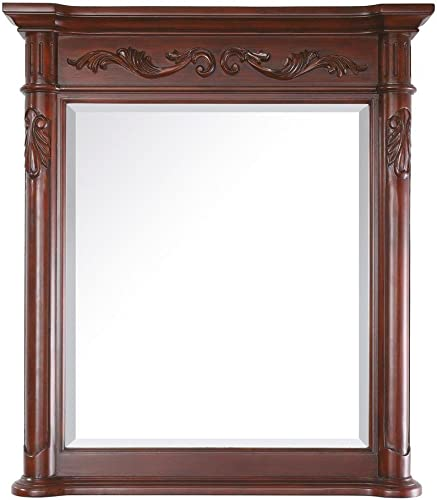 Avanity Provence 30 in. Mirror in Antique Cherry finish
