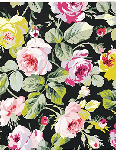 Anna Griffin Continuous Printed Gift Wrap Paper Roll - Grace Black (TWP649)