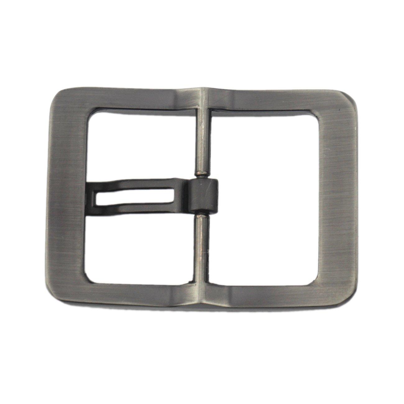 Gray05 38-40 mm Single Prong Square Belt Buckle Waistbelt buckle 1 1//2
