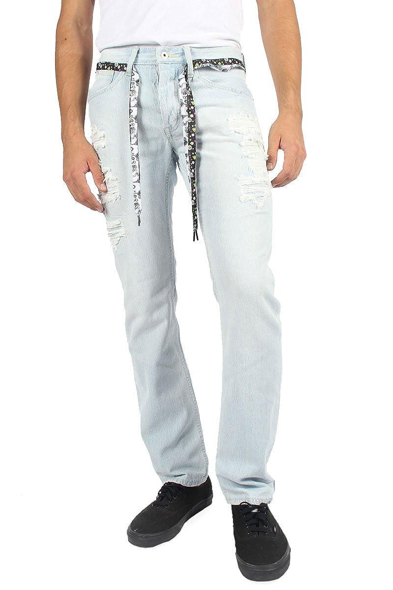 Mens Destructed Slim Jeans TRUKFIT