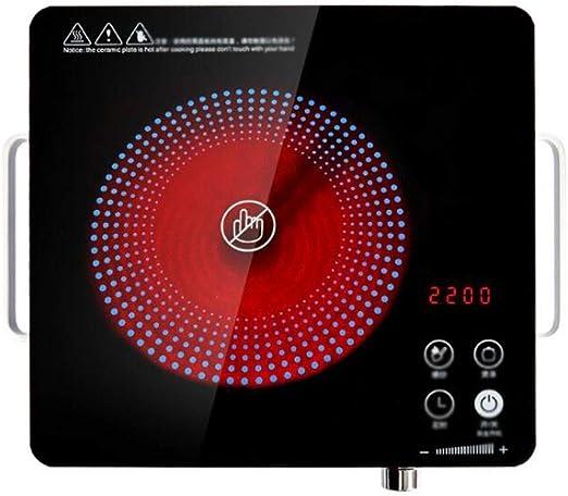 Placa vitrocerámica de inducción eléctrica Caliente cerámica de la ...