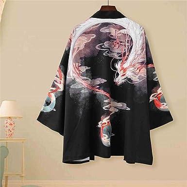 Traje De Verano Tang Camisa De Kimono De Manga Japonesa De ...