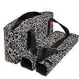 NEW! - Empty Mahjong Bag - Paisley Black Soft Bag by Linda Li - Empty Bag Only