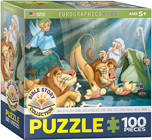 EuroGraphics Daniel and the Lions 100-Piece Puzzle