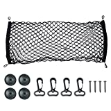 AULLY PARK Rear Cargo Storage Net for SUV Truck Jeep
