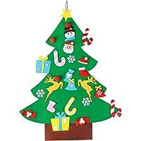 AerWo 3ft Bricolaje árbol de Navidad de Fieltro