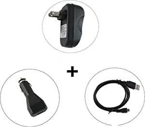 Star Power TouchPad Power Charger Kit (3 Items) AC WallCharger/AutoCharger/USB Cable,for HP TouchPad 9.7'' Tablet,100% Compatible with Original P/N:HP North American Power Charger FB341AA#ABA