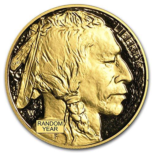 2006 W - Present 1 oz Proof Gold Buffalo (Random Year, Capsule Only) 1 OZ Brilliant - Buffalo 2006 Gold