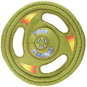 Amazon Com Hartz Tuff Stuff Toss Around Plush Frisbee