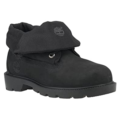 3cd9fe8d Amazon.com | Timberland Roll Top Youth US 13.5 Black Boot | Boots
