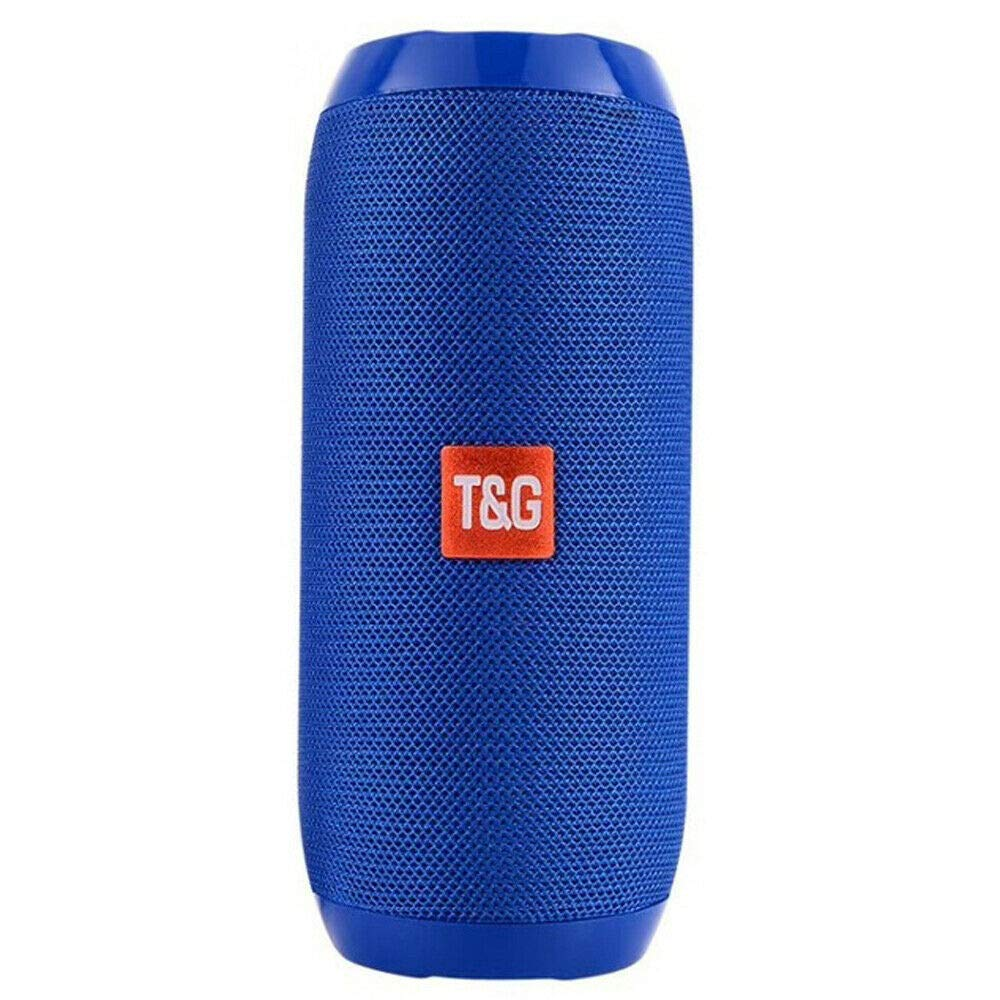 RONSHIN Portable Bluetooth Speakers,Loud Bluetooth Speaker Wireless Waterproof Outdoor Stereo Bass USB/TF/FM Radio Blue by RONSHIN