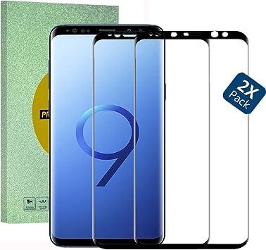 HUUH [2 Unidades] Samsung Galaxy S9 Plus Cristal Templado ...