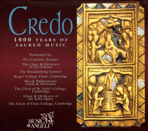 Credo: 1000 Years of Sacred Music by Brilliant Classics