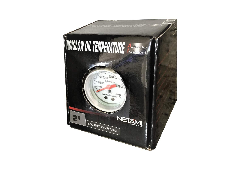 NETAMI NT-0321 2 Face Glow Oil Temperature Machanical Gauge Meter