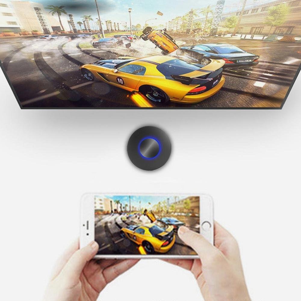 KOBWA - Proyector portátil con pantalla WiFi para iPhone, iPad ...