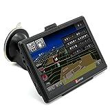 7インチタッチスクリーン ナビ8GB内蔵 FM MP3 MP4 衛星ナビ 車 トラック用 GPS ナビゲーションシステム ナビゲーター 永久地図更新