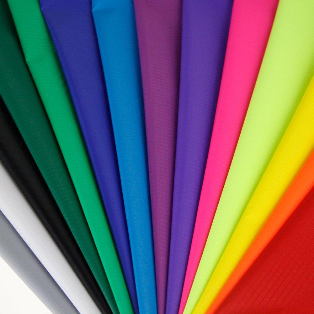 emma kites Ripstop Nylon Fabric for Kite Making 1.63Oz 40D 60'' W X 36'' L - Pack 14pcs of 14 Colors