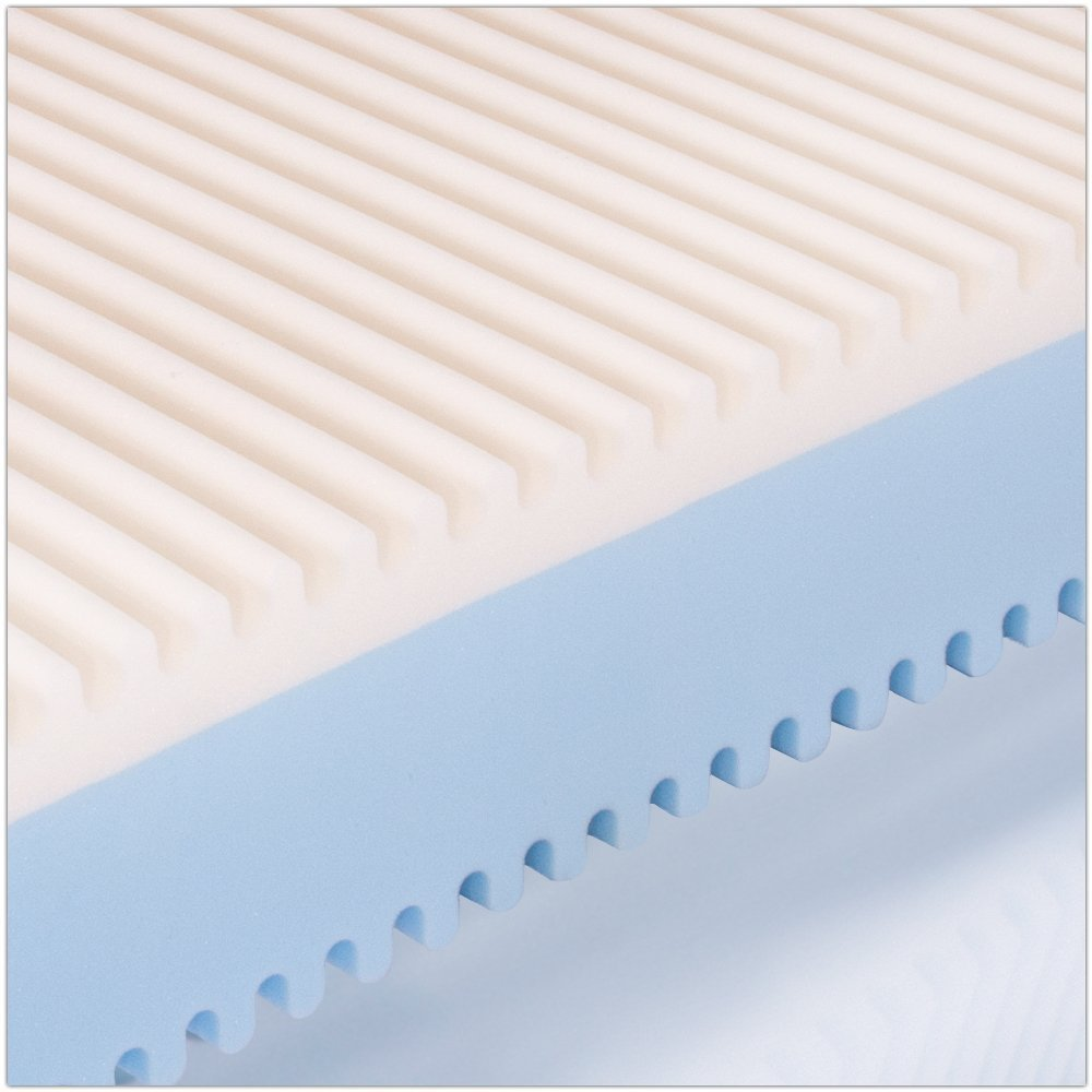 MiaSuite Top H25 160X190 Memory Aloe Vera 160 x 190 cm Bianco