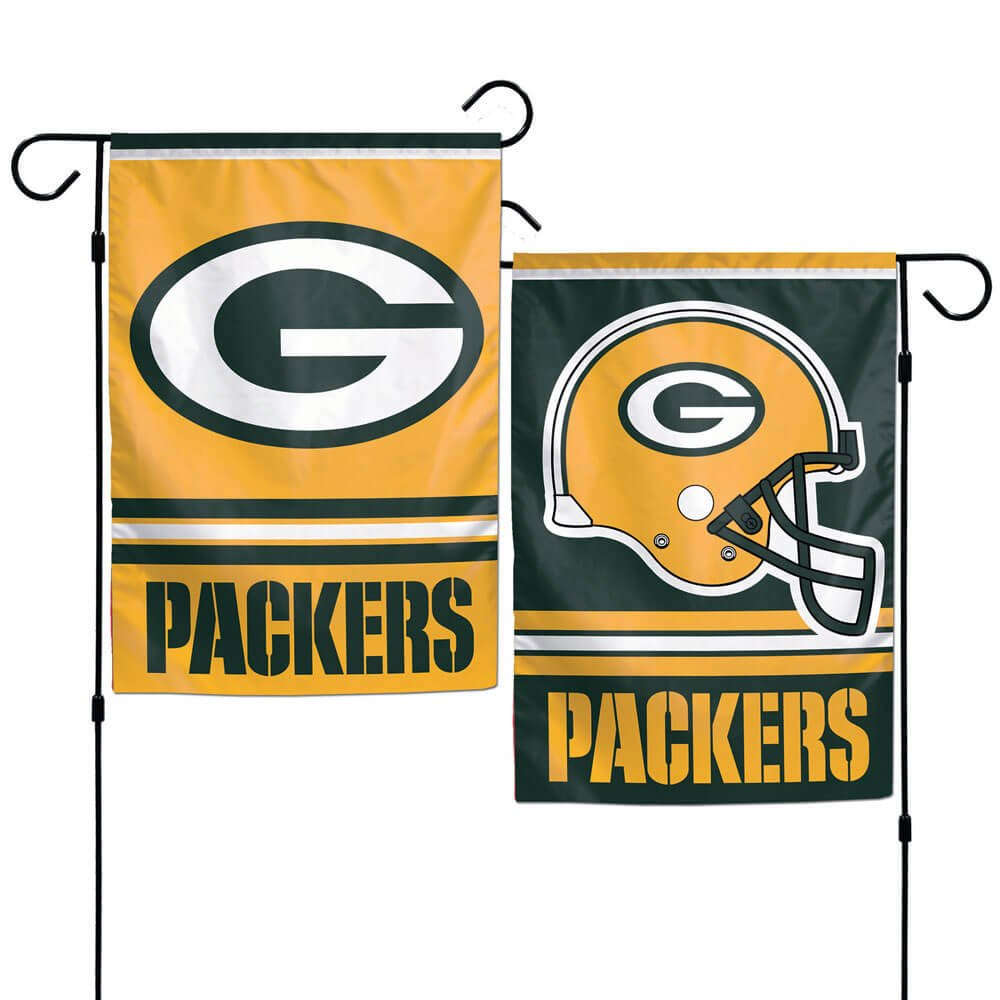 Green Bay Packers Double Sided Garden Flag