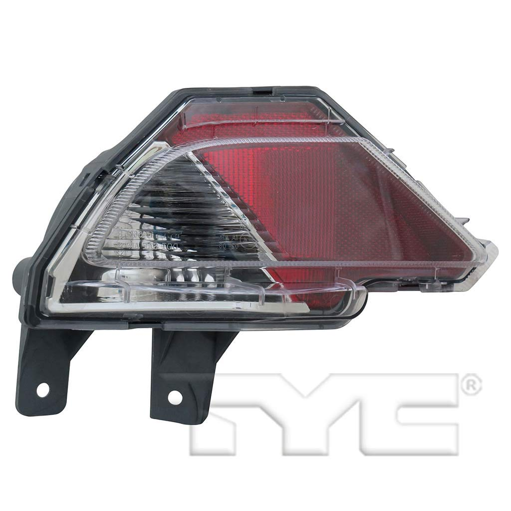 Fits 2016-2017 Toyota RAV4 Driver Side Rear Back Up Tail Light Lens/Reflector NSF Certified With Bulbs Included TO2886105 - Replaces 81456-42070 ;for Japan Built; Bumper Mounted