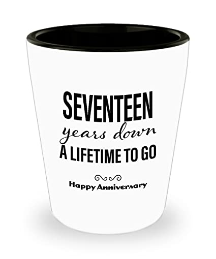 Image Unavailable. Image not available for. Color: 17th Anniversary Gifts for Him ...