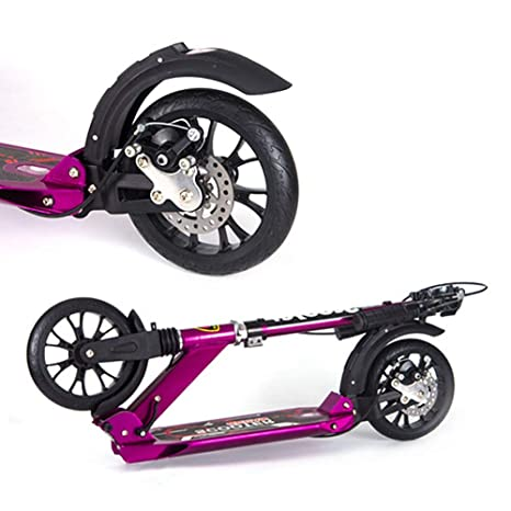 Patinetes clásicos Scooter Plegable para Adultos con Freno ...