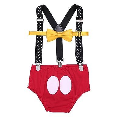 Venta de descuento 2019 último clasificado diseño de moda TiaoBug 3Pcs Traje Animal Infántil Bebés para Primer Cumpleaños Fiestas  Braguita de Bebé Niñas con Liga Ajustable Chulo Niños Bottoms Sets