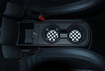 WOQUi Cup Holder in Silicone per BMW Mini Cooper R61 Paceman F55 F56 3rd Portabicchieri Anteriori