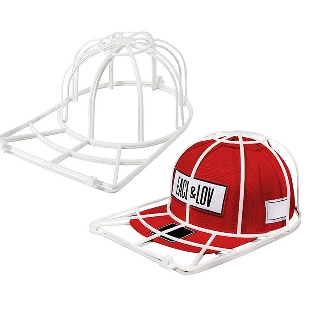 Amazon.com  Cap Washer Baseball Hat Cleaner Cleaning Protector Ball Cap  Washing Frame Cage Easy Use By Makaor (Product size 35cmx25cmx15cm 56ed4cbb046
