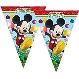 Procos S.A. Cadena de Banderines | 2,30 m | Disney Mickey Mouse | Fiesta