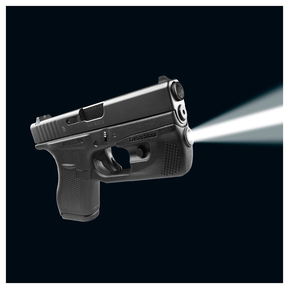 Lasermax Glock Centerfire Led Weapon Light (Cf-G42-Lc)