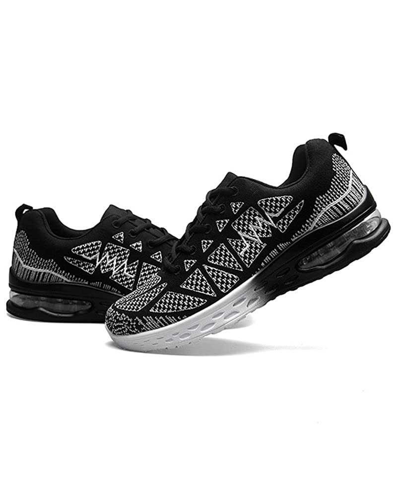 Duberess Womens Air Cushion Athletic Running Sneakers Sport Shoes Lightweight Breathable Gym Walking Shoes