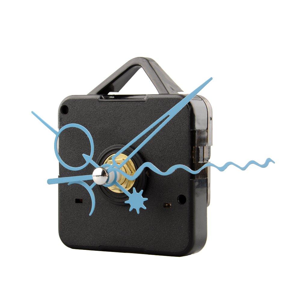 1.99 Kiicn DIY Wanduhr Movement Mechanism Mit Blauen Spitzen Silent Clock Quarz Movement Mechanism Blue Hand