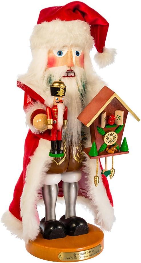 Kurt Adler Steinbach Tyrolean Santa Nutcracker, 17-Inch