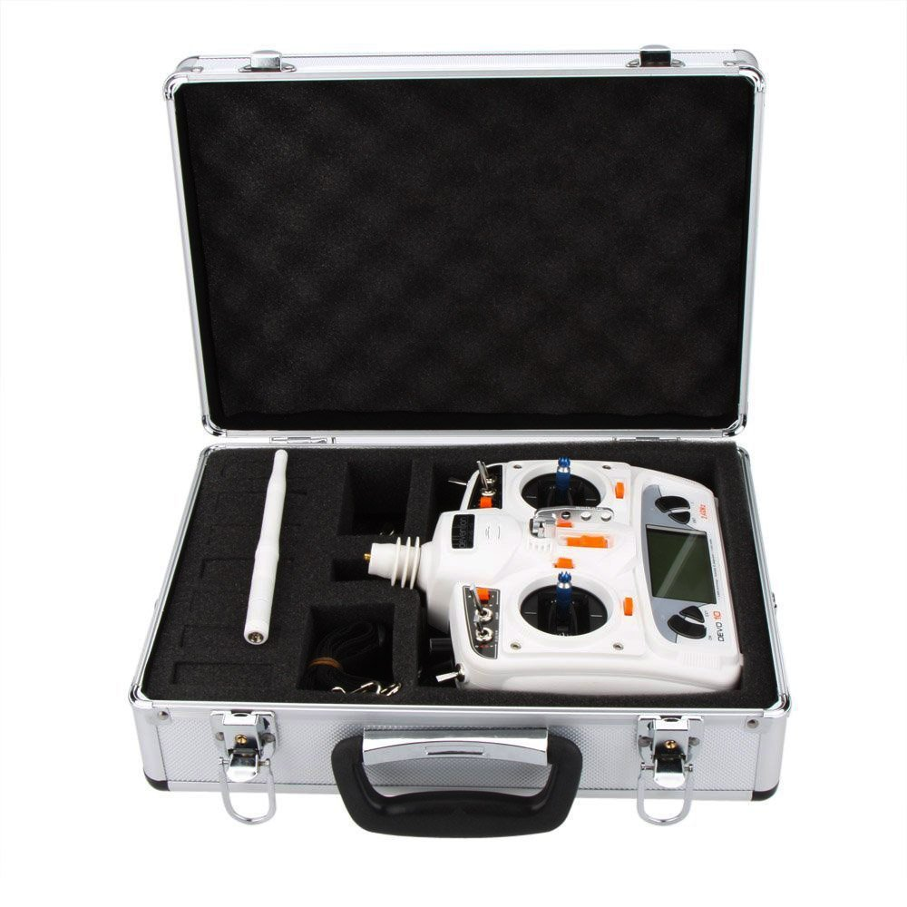 HUL Aluminum RC Airplane Transmitter Case