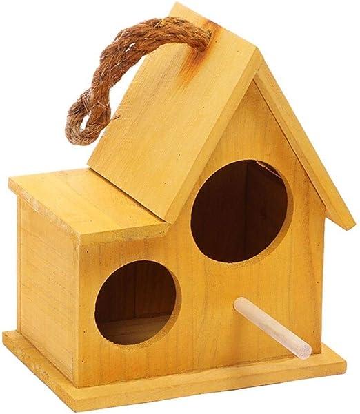 LF stores Casas para pájaros Caja de Madera Jardín Jaulas de ...