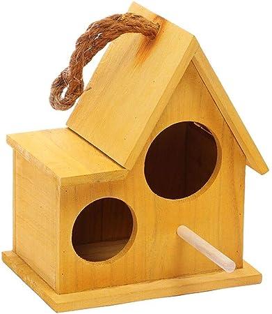 LF stores Casas para pájaros Caja de Madera Jardín Jaulas de pájaros Nidos Casa de Aves (Color : D): Amazon.es: Hogar