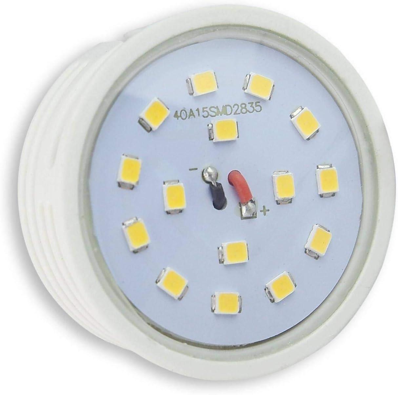 """Lampada Led /"""" Piatto /"""" Bianco Caldo o Neutro 3 5 Watt Ricambio per GU10 Nuovo"""